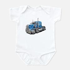Kenworth W900 Lt Blue Truck Infant Bodysuit