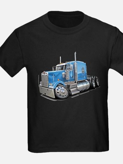 Kenworth W900 Lt Blue Truck T