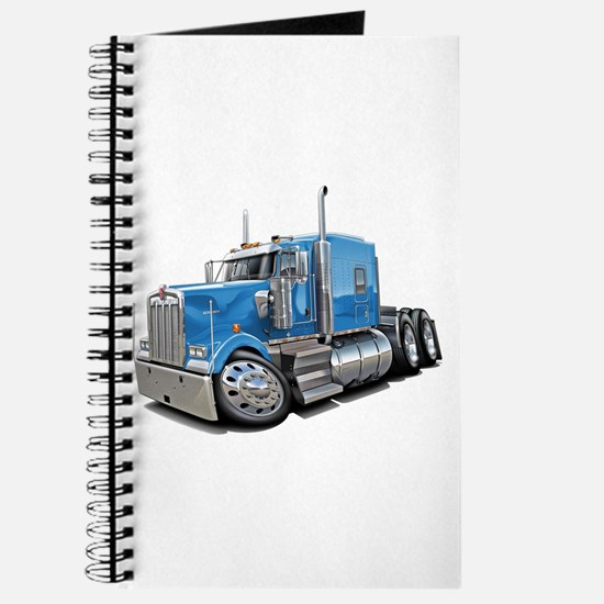 Kenworth W900 Lt Blue Truck Journal