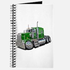 Kenworth W900 Green Truck Journal