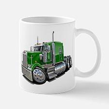 Kenworth W900 Green Truck Mug