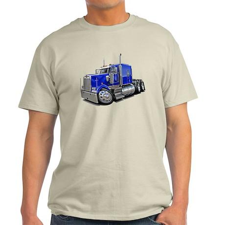 Kenworth W900 Blue Truck Light T-Shirt
