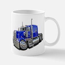 Kenworth W900 Blue Truck Mug
