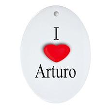 Arturo Oval Ornament