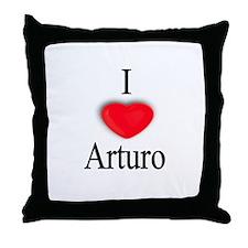 Arturo Throw Pillow