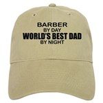World's Best Dad - Barber Cap