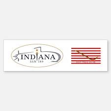 PCU Indiana Crest Sticker (Bumper)