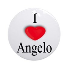 Angelo Ornament (Round)