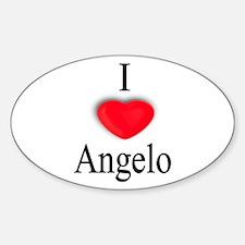 Angelo Oval Decal
