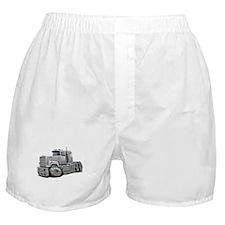 Mack Superliner White Truck Boxer Shorts