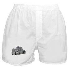 Mack Superliner Silver Truck Boxer Shorts