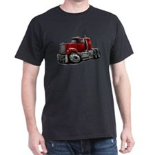 Mack Superliner Red Truck T-Shirt