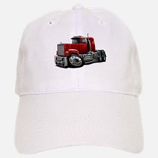 Mack Superliner Red Truck Baseball Baseball Cap