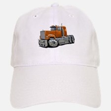 Mack Superliner Orange Truck Baseball Baseball Cap