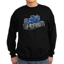 Mack Superliner Lt Blue Truck Sweatshirt