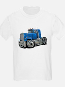Mack Superliner Lt Blue Truck T-Shirt