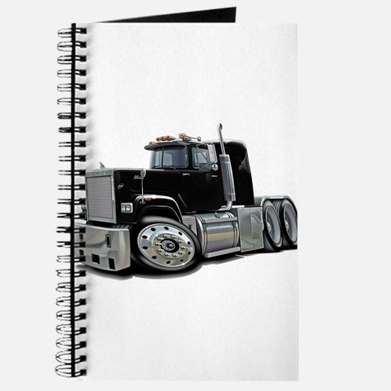 Mack Superliner Black Truck Journal
