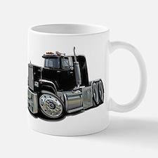 Mack Superliner Black Truck Mug