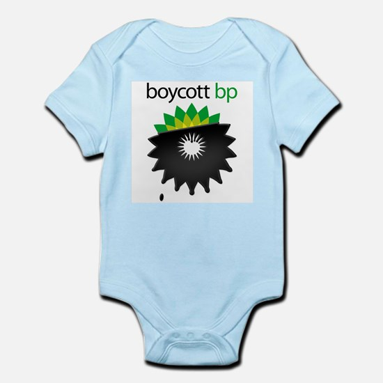 boycott bp Infant Bodysuit
