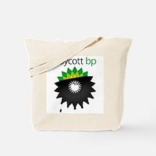 boycott bp Tote Bag
