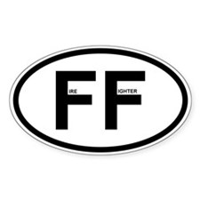 FF - Firefighter Stickers