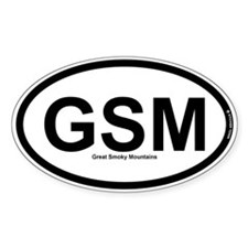 GSM - Great Smokey Mountains Decal