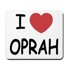 I heart Oprah Mousepad