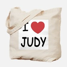 I heart Judy Tote Bag