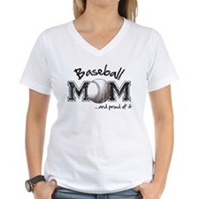 Baseball Mom...and proud of it T-Shirt