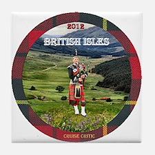 British Isles - Tile Coaster