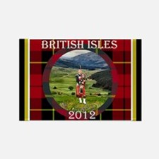 British Isles - Rectangle Magnet (10 pack)