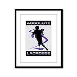 Lacrosse Framed Panel Print
