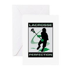 Lacrosse Greeting Cards (Pk of 10)