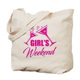 Girls weekend Canvas Tote Bag