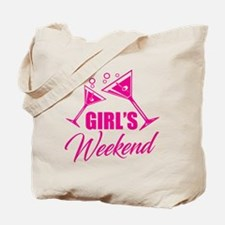 Unique Girl weekend Tote Bag