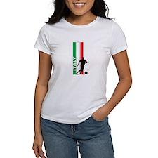 ITALY FUTBOL 3 Tee