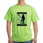 Lacrosse Green T-Shirt