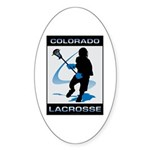 Lacrosse Sticker (Oval)