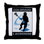 Lacrosse Throw Pillow