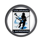 Lacrosse Wall Clock
