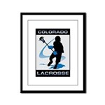 Lacrosse Framed Panel Print