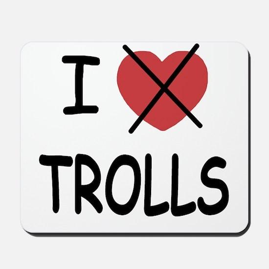 I hate trolls Mousepad