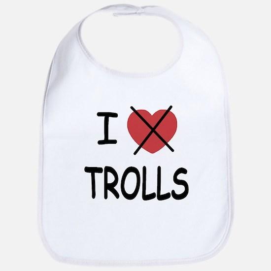 I hate trolls Bib