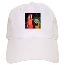 Scarlet and Blue and Gold Baseball Cap