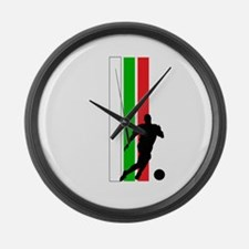 MEXICO FUTBOL 2 Large Wall Clock
