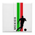 MEXICO FUTBOL 3 Tile Coaster
