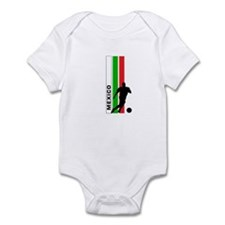 MEXICO FUTBOL 3 Infant Bodysuit