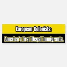 Illegal Immigration Bumper Bumper Bumper Sticker