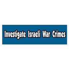 Investigate Israeli War Crimes