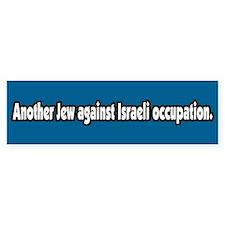 Jews Against Israeli Occupation Bumper Bumper Bumper Sticker